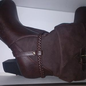 Life Stride Shoes - Brown ankle boot